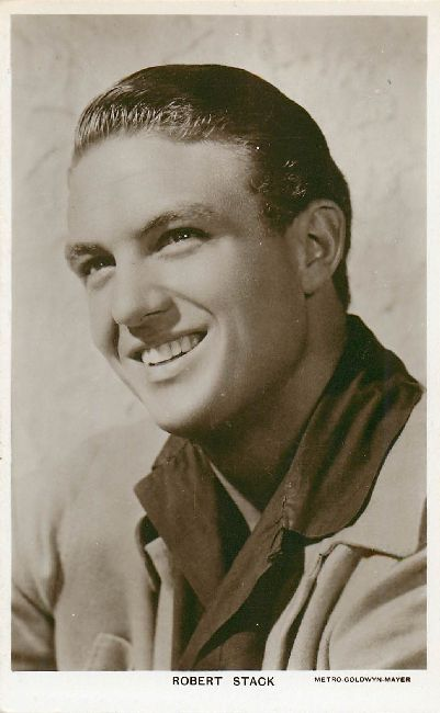 Robert Stack Postcard