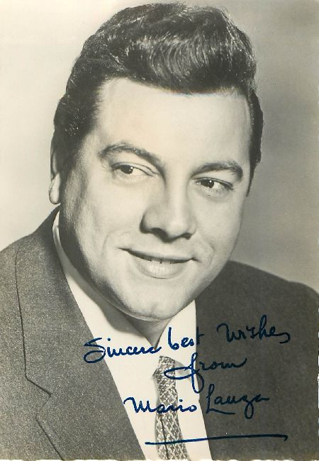 SIGNED Mario Lauga REVEILLE Fan Club Postcard