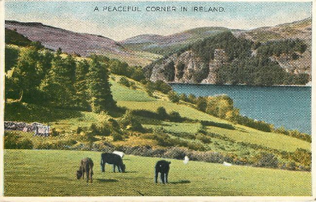 A Peaceful Corner in Ireland-St. Patrick's Day Postcard