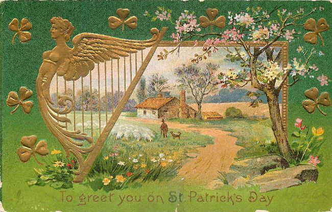 St. Patrick's Day Postcard-To Greet you on St. Patrick's Day