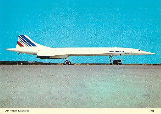 Air France Airlines Postcard Charles Skilton's Series 318