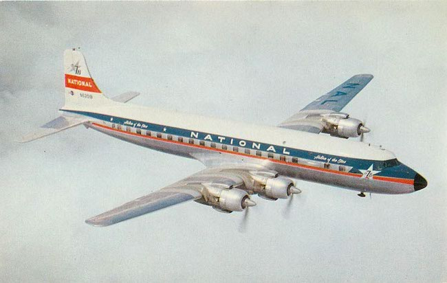 National Airlines Postcard