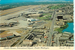 Seattle Tacoma International Airport, Seattle, W.A. Postcard