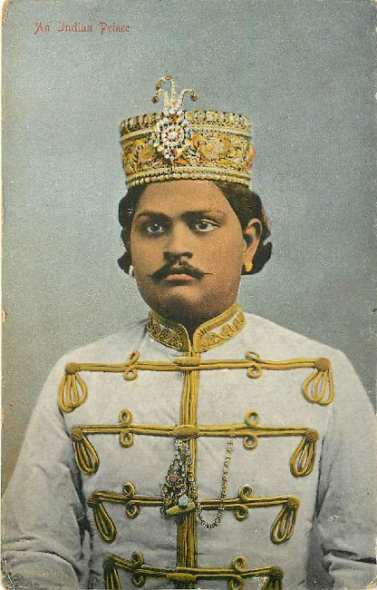 An Indian Prince Royalty Postcard