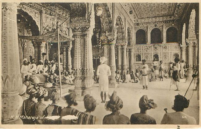 H.H. Maharaja Royalty Postcard