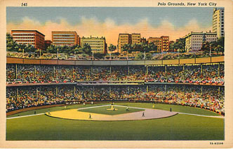 Baseball Postcard - Polo Grounds, New York City