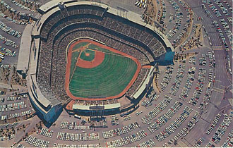 Baseball Postcard - Fabulous Dodger Stadium