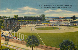Baseball Postcard - Al Land Field on Beautiful Tampa Bay