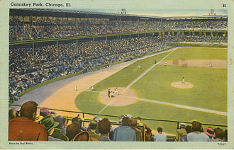 Baseball Postcard - Comiskey Park, Chicago, Ill.