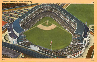 Baseball Postcard - Yankee Stadium, New York City