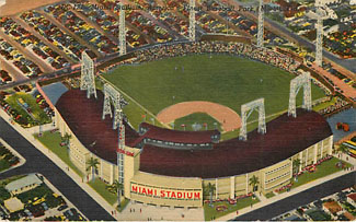 Baseball Postcard - Miami Stadium