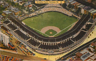 Baseball Postcard - Wrigley Field, Chicago, Ill.