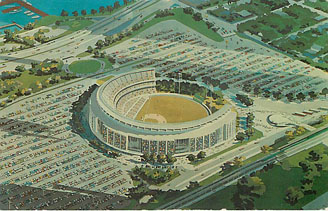 Baseball Postcard - William A. Shea Municipal Stadium