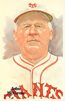 John McGraw Perez-Steele Galleries Baseball Postcard
