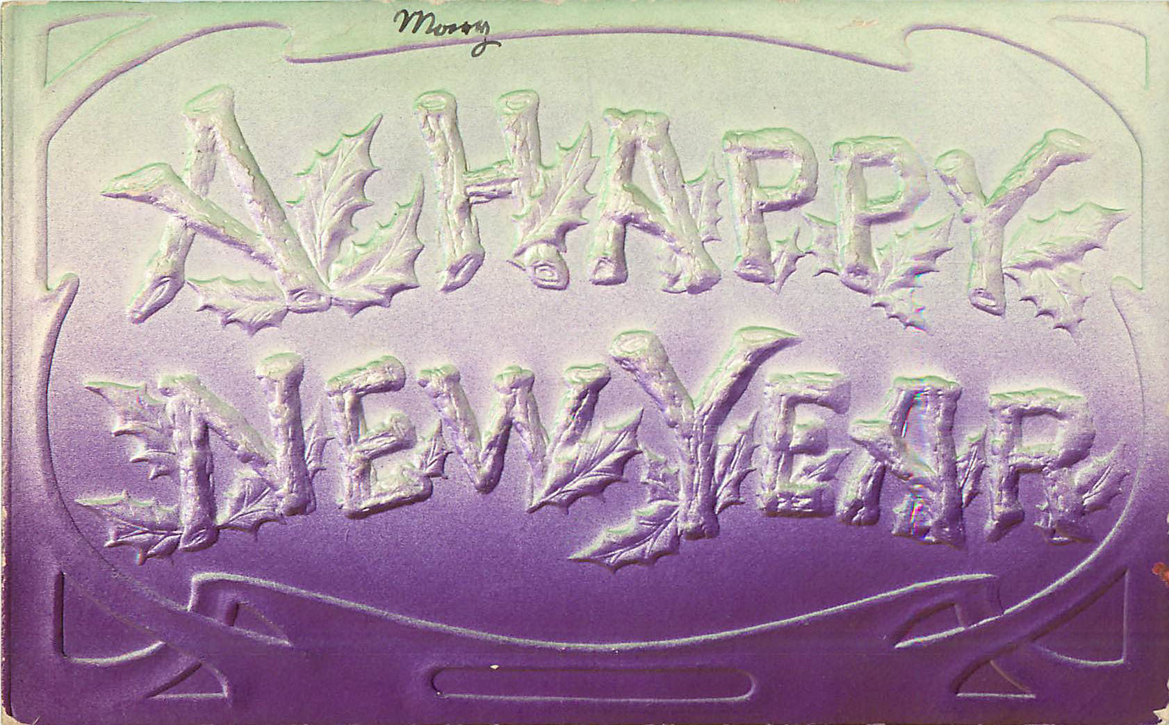 Happy New Year Postcard
