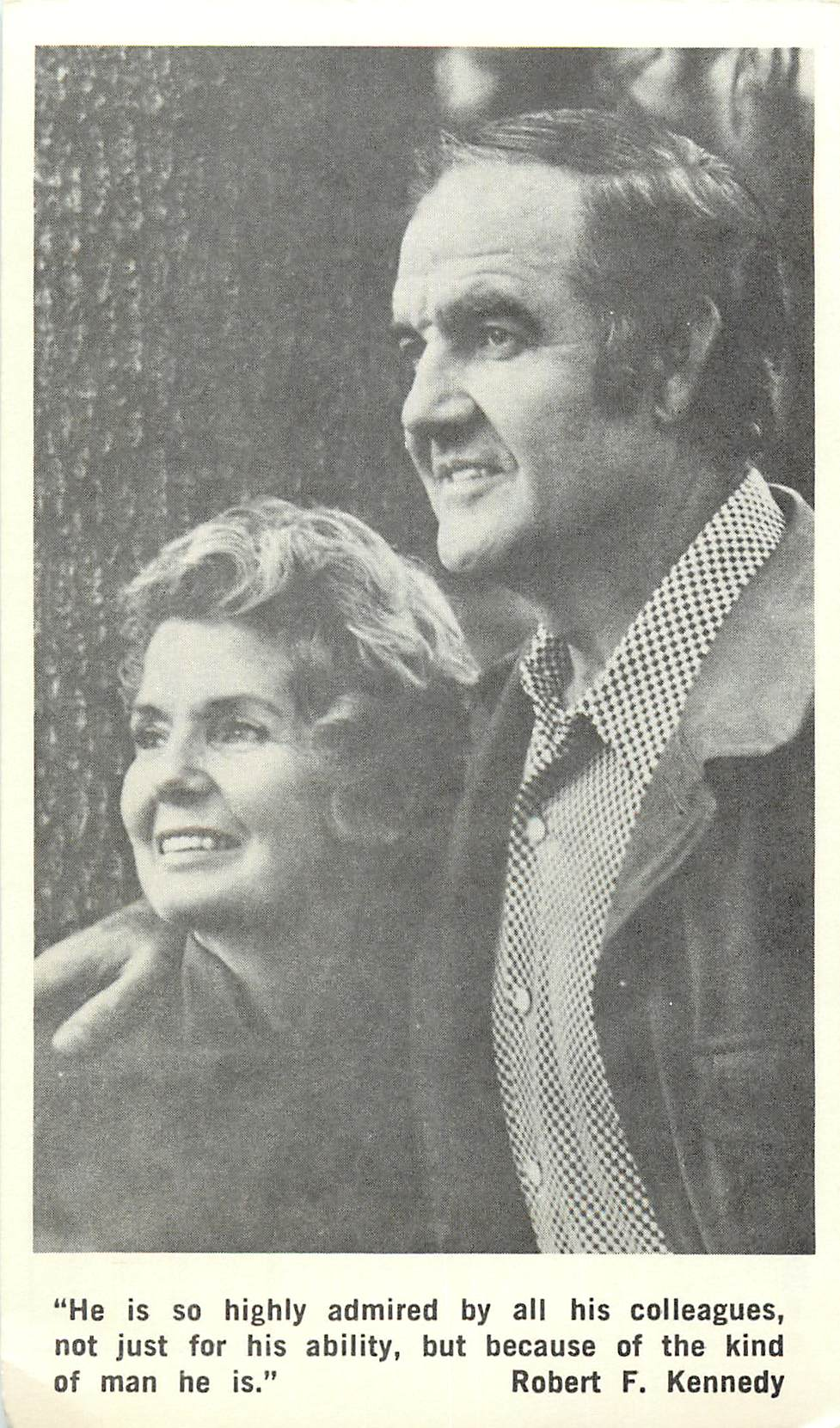 """Senator and Mrs. George McGovern"""