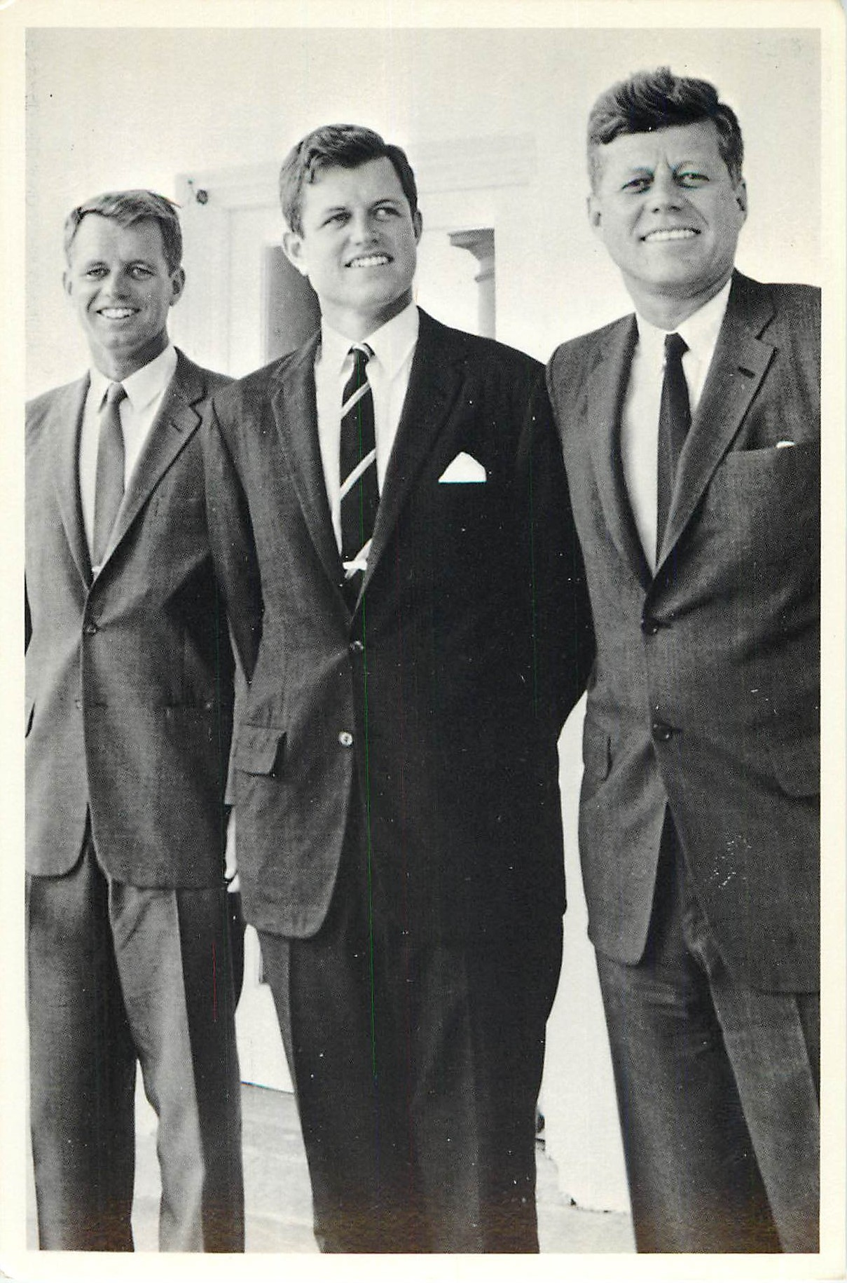 """Edward, Ted, and John Kennedy"""