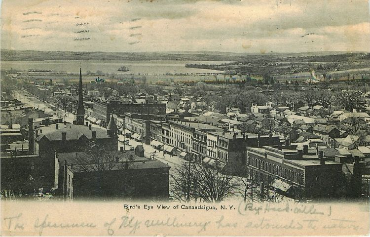 Bird's Eye View of Canandaigua, N.Y.