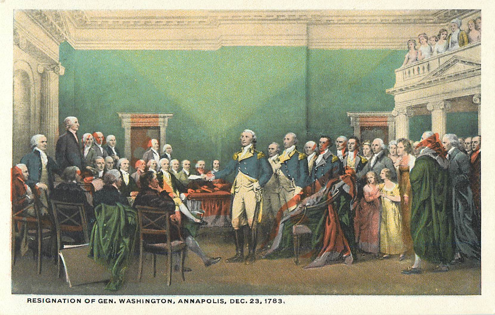 """Resignation of General Washington"""