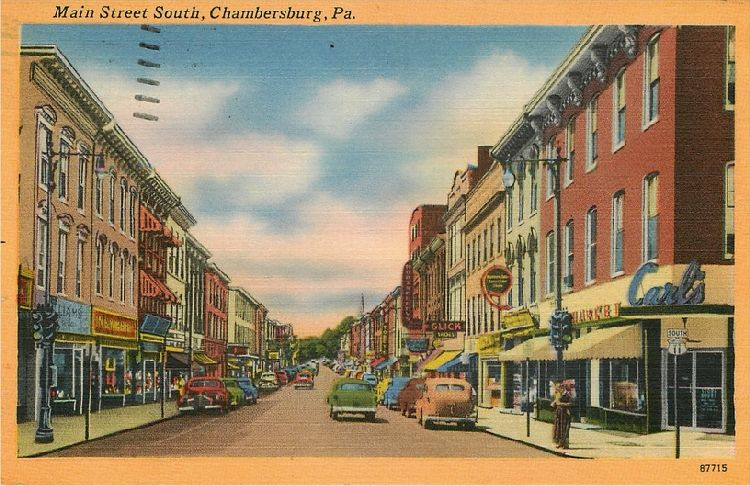 Main Street South, Chambersburg, Pa.