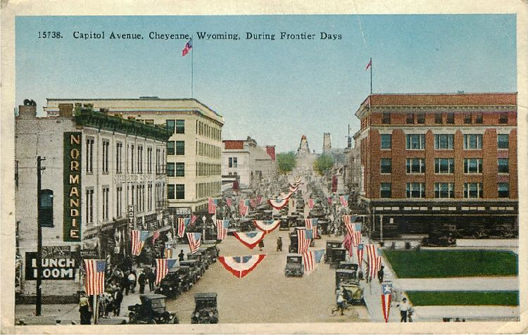 Capitol Avenue, Cheyenne, Wyoming, During Frontier Days