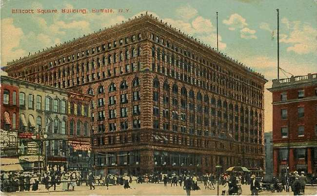 Ellicott Square Building, Buffalo, N.Y.