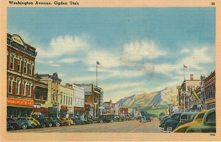 Washington Avenue, Ogden Utah