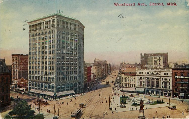Woodward Ave., Detroit, Mich.