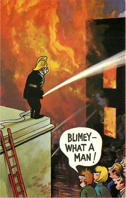 """Firefighter"" Bamforth Comic"