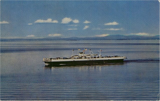 M.V. Valcour - Most Scenic Ferry Crossing in North America