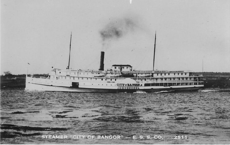 "Str. ""City of Bangor"" - E.S.S. Co. - No. 2511"