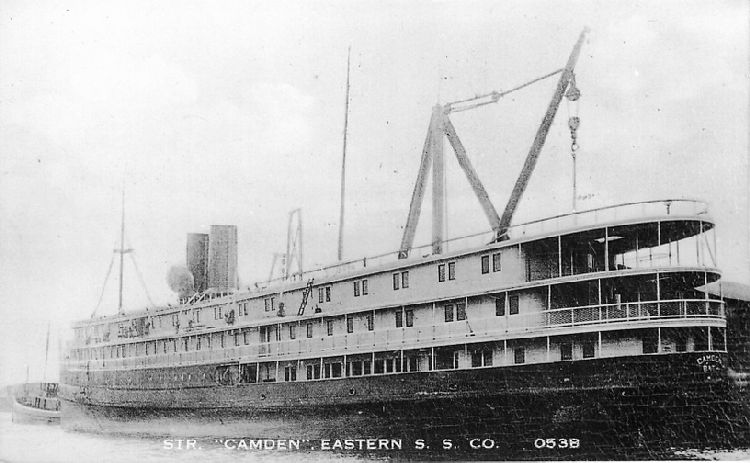 "Str. ""Camden"", Eastern S.S. Co. - No. 053B"