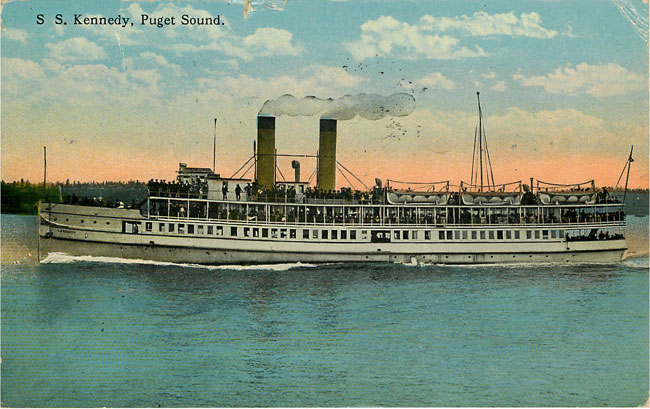 S S Kennedy Puget Sound Steamer