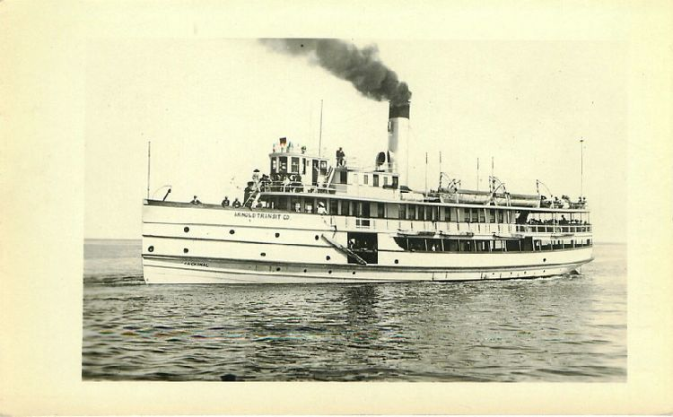 Mackinac - Arnold Transit Co.