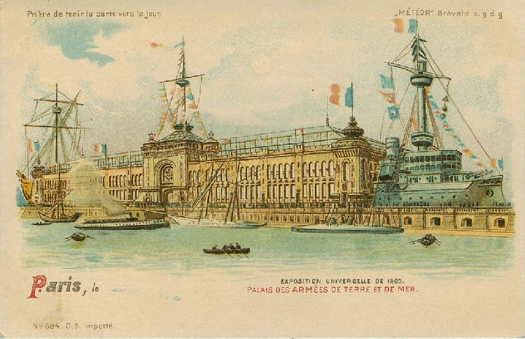 Paris - Palais des Armees de Terre et de Mer - France - Click Image to Close