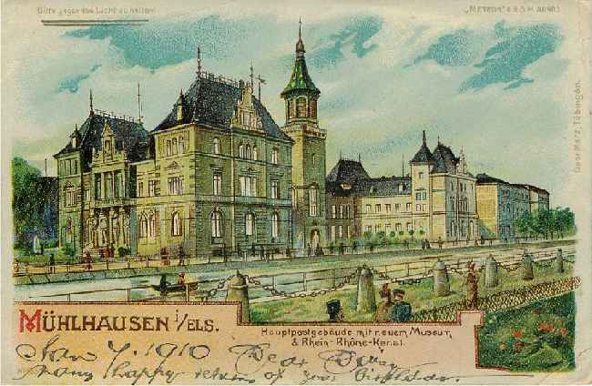 Muhlhausen - Museum by the Rhein-Rhone-Kanal - Germany