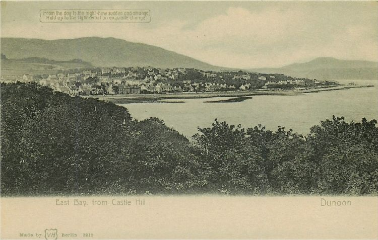 East Bay, from Castle Hill - Dunoon - Scotland