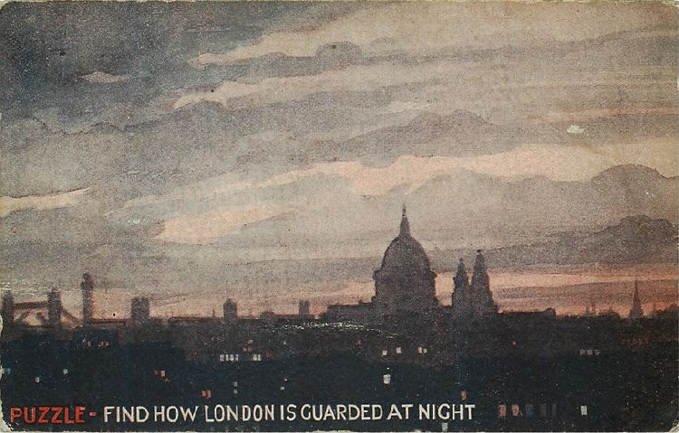 Puzzle - Find How London is Guarded at Night