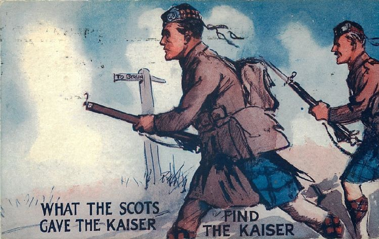 Puzzle - What the Scots gave the Kaiser - Find the Kaiser