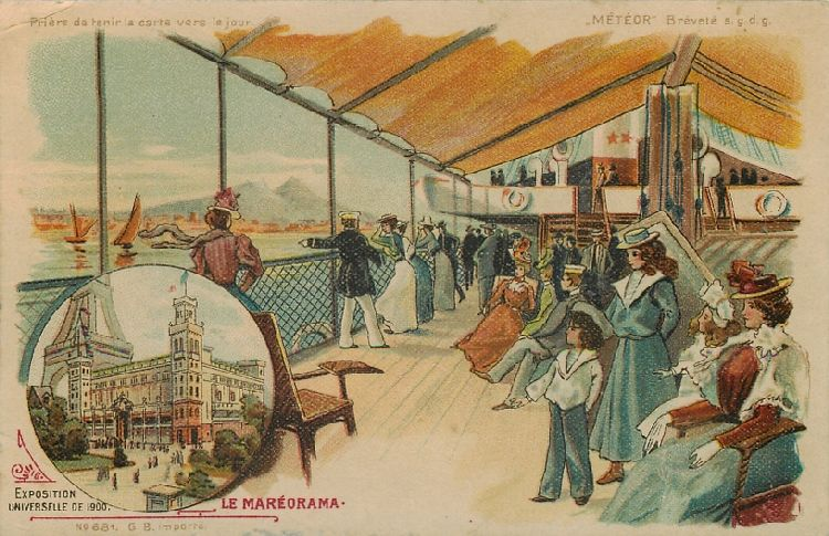 Le Mareorama - Exposition Universelle de 1900 - France
