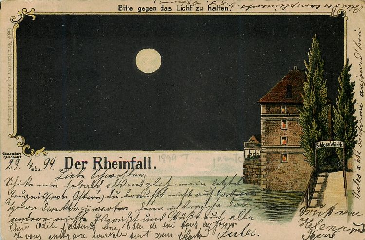 Der Rheinfall - The Moon and the Water - Switzerland