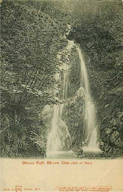 Dhoon Fall, Dhoon Glen (Isle of Man)
