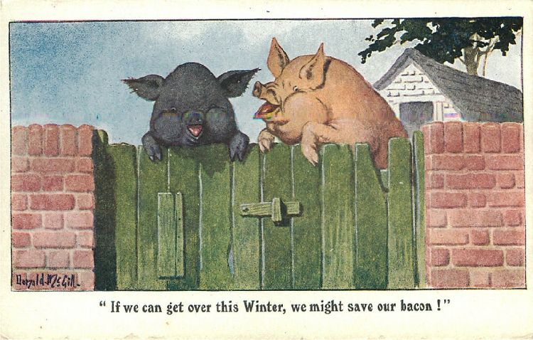 """If we can get over this Winter, we might save our bacon!"" - Pig"