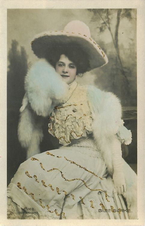 Billie Burke - No. A.162 Postcard