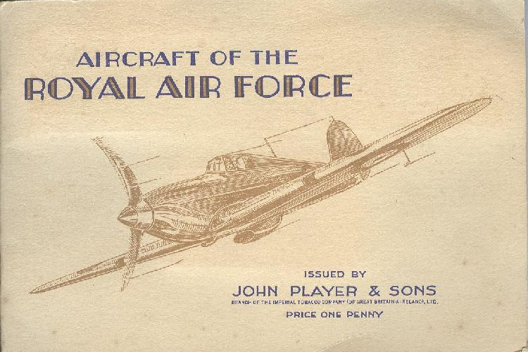 Royal Air Force Issued By John Player & Sons Cigarette Postcard