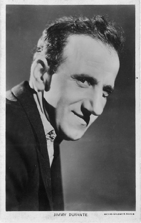 Jimmy Durante - No. 742 Postcard