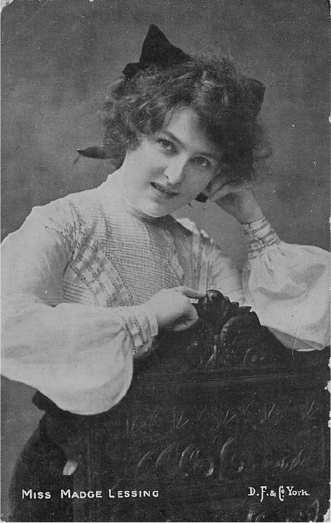 Miss Madge Lessing - No. 925-S Postcard