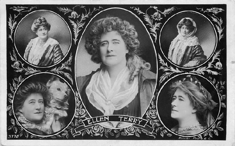 Ellen Terry - No. 3778 Postcard
