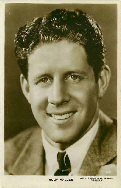 Rudy Vallee Postcard