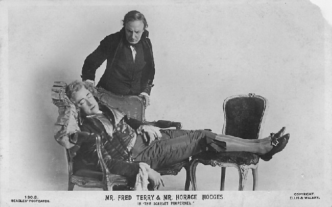 Mr. Fred Terry & Mr. Horace Hodges in 'The Scarlet Pimpernel'